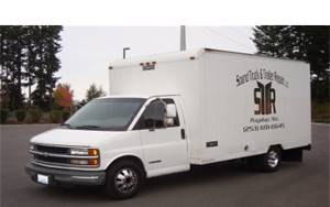 Our 1st service truck in 2008.