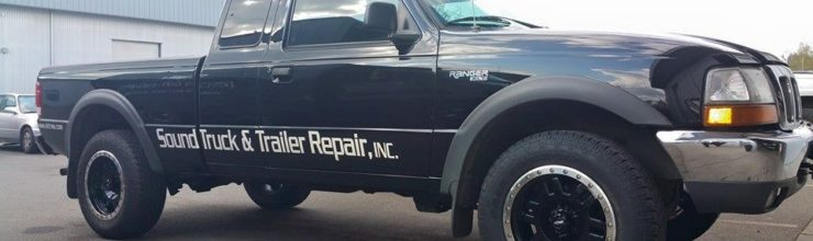 New Parts Truck from Martin Way Collision